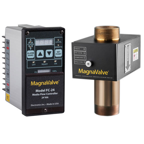 MagnaValves for Air Blast Machines
