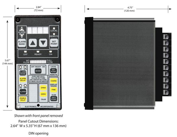 FM-24 Monitor Dimensions - Electronics Inc.