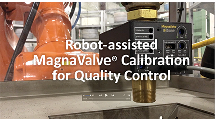 Robot-Assisted  MagnaValve Calibration for Quality Control