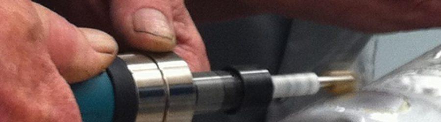 Rotary flap peening - Electronics Inc.