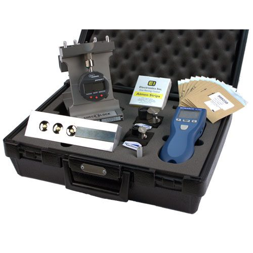 Rotary Flap Kit with #2 Almen Gage - Electronics Inc