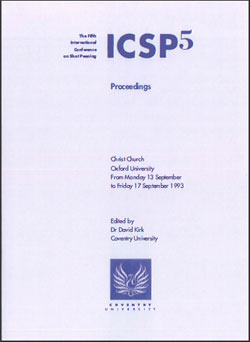 ICSP 5 Proceedings