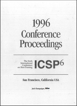 ICSP 6 Proceedings