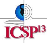 ICSP -13 Conference Logo