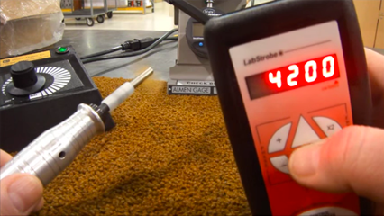Using a Stroboscope for Roto – Flapper Peening